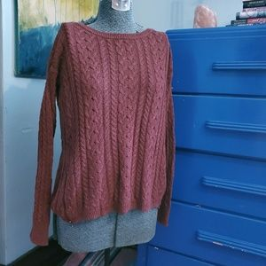 American Eagle cable knit sweater